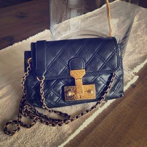 Marc Jacobs quilted crossbody with gold hardware